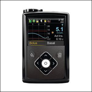 เครื่องให้อินซูลิน ยี่ห้อ Medtronic รุ่น MiniMed 640G