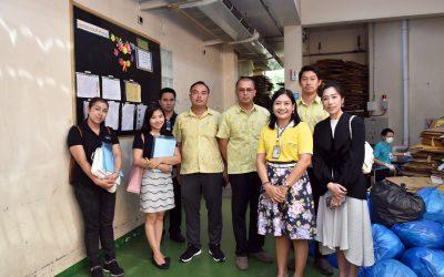 สำนักงานเทศบาลนครนนทบุรี เข้าศึกษาดูงานเรื่องของการจัดการขยะ