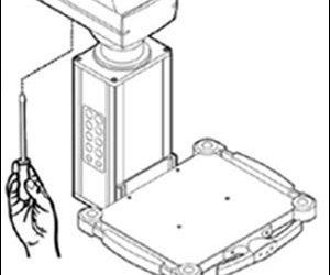 แขนของ Ceiling Supply Units รุ่น klinoPORT