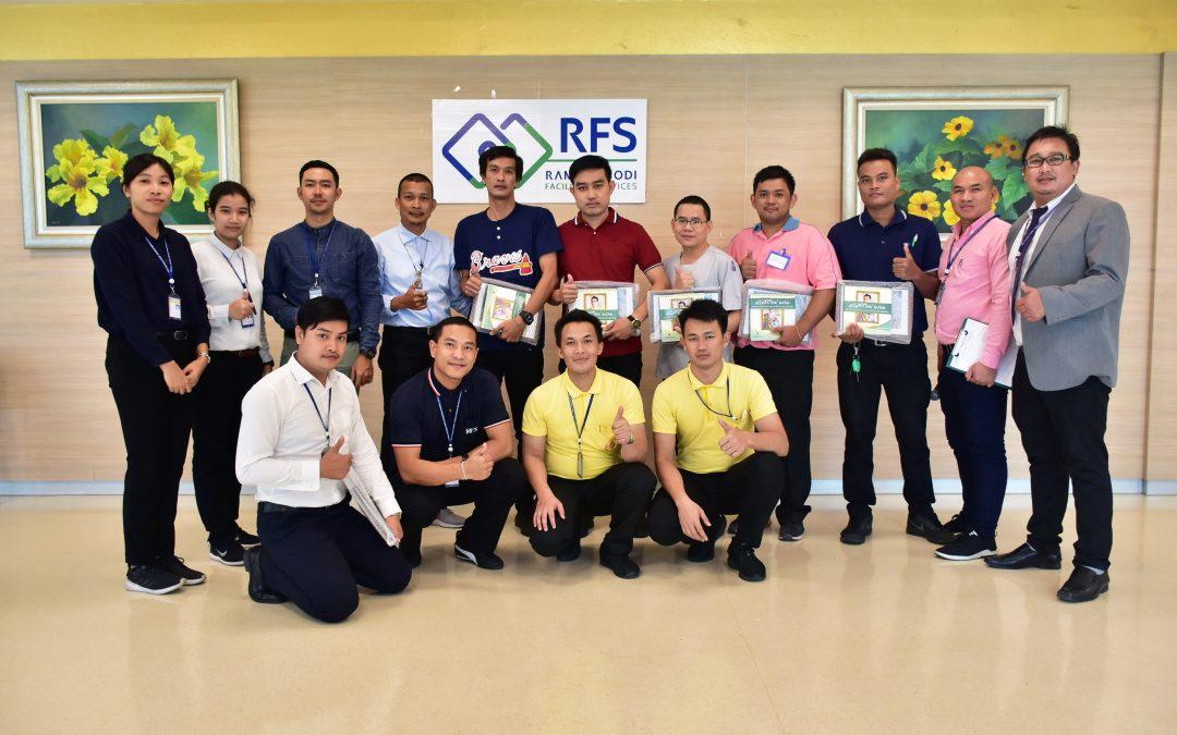 หลักสูตรฝึกอบรม Basic Hospital Transportation รุ่นที่22 ระหว่างวันที่ 21-23 สิงหาคมที่ผ่านมา